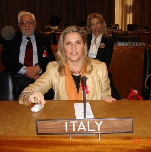 New York, ONU, 1° marzo 2006 - Commissione sullo Status delle Donne