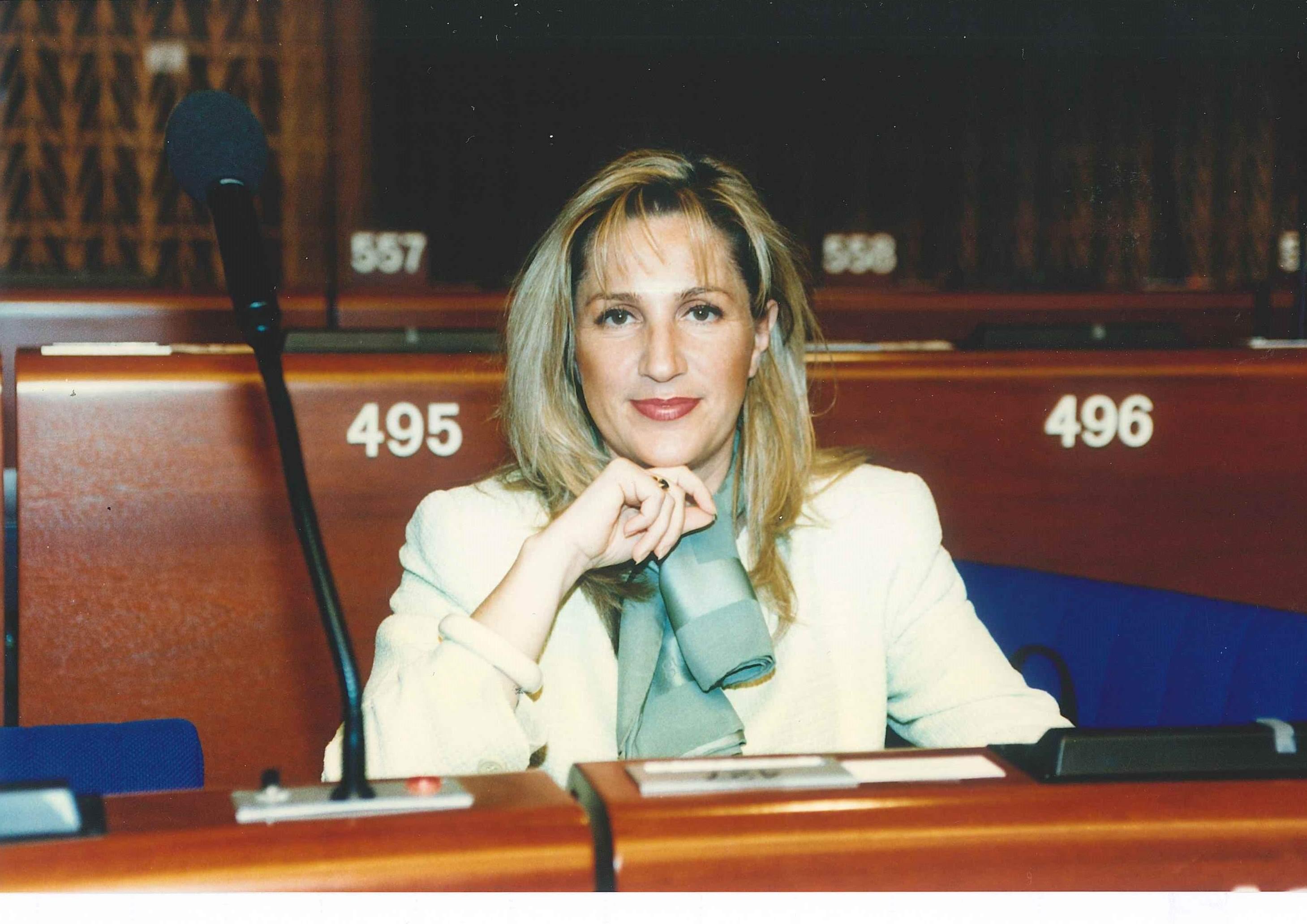 Strasburgo, Parlamento Europeo, 1996 Emiciclo