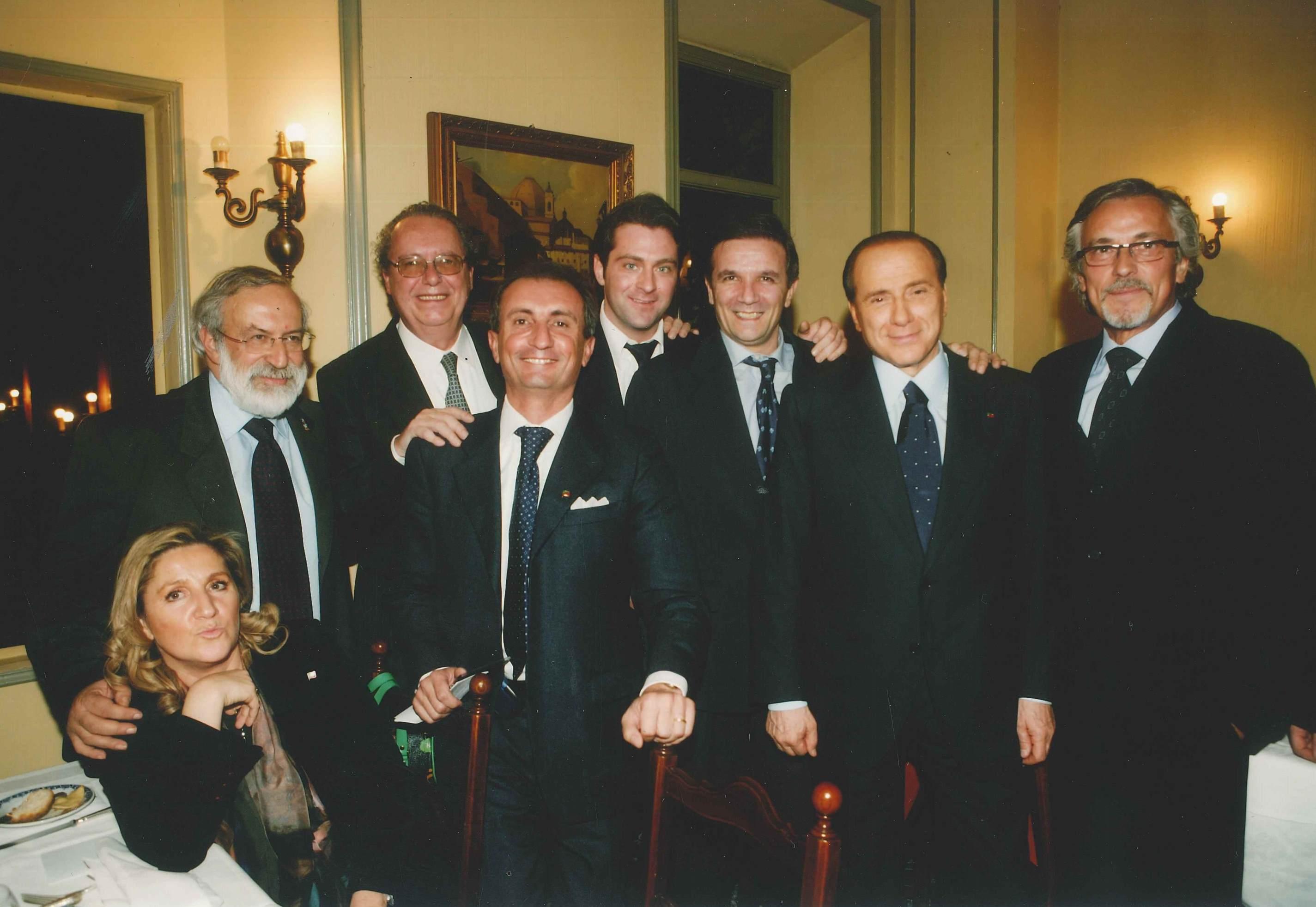 Firenze, 2006 - Silvio Berlusconi, Enrico Ferri, Fabrizio Bianchi...