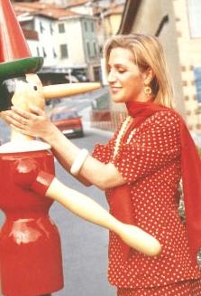 Collodi (PT), 1995, con Pinocchio