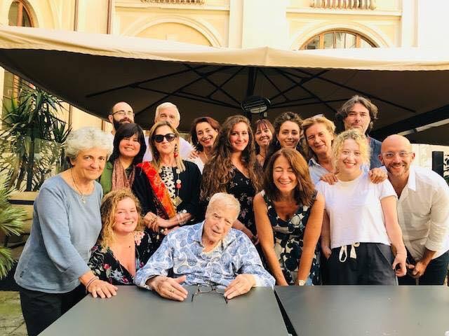 Firenze, Fondazione Zeffirelli, 21 settembre 2018 – Franco Zeffirelli e il suo Team