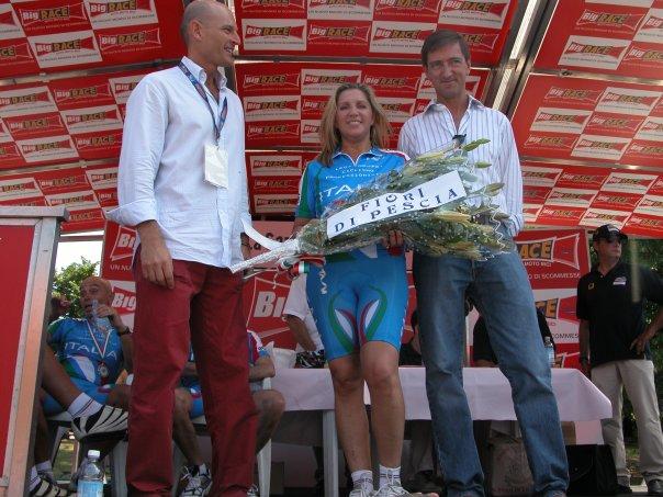 Montecatini Terme (PT), 19 giugno 2005 – Premiata da Faustino Coppi e dall'Assessore allo Sport David Mariani
