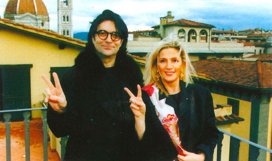 Firenze, gennaio 1999 – Renato Zero e Fonopoli d'Europa