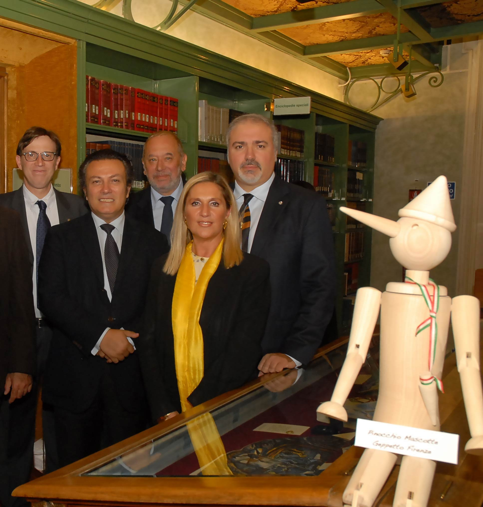 Roma, Camera dei Deputati, Biblioteca S. Macuto, 18 ottobre 2011 – Pinocchio in mostra