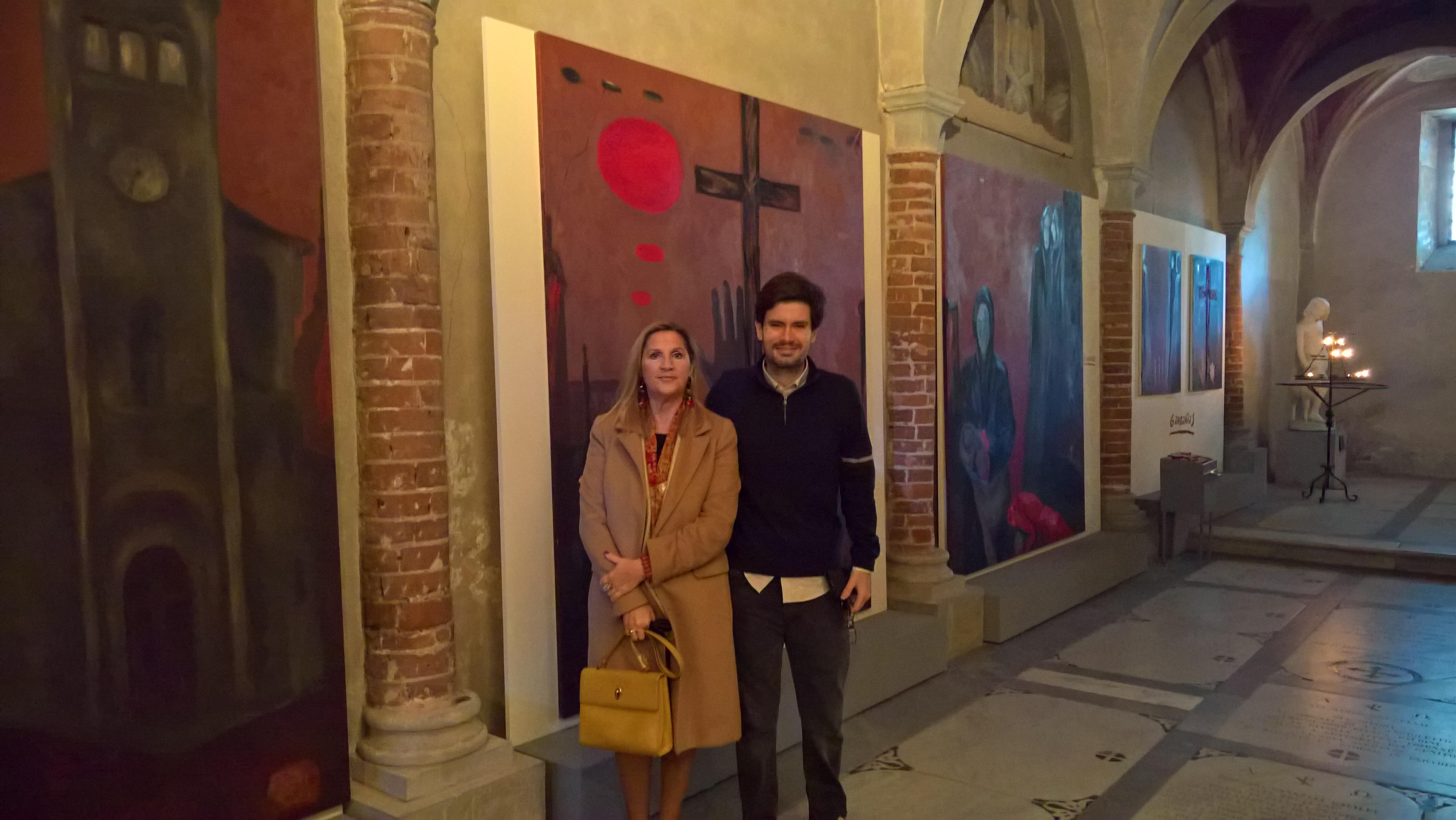 Firenze 10 Novembre 2018 - Alejandro Baron a Gernika