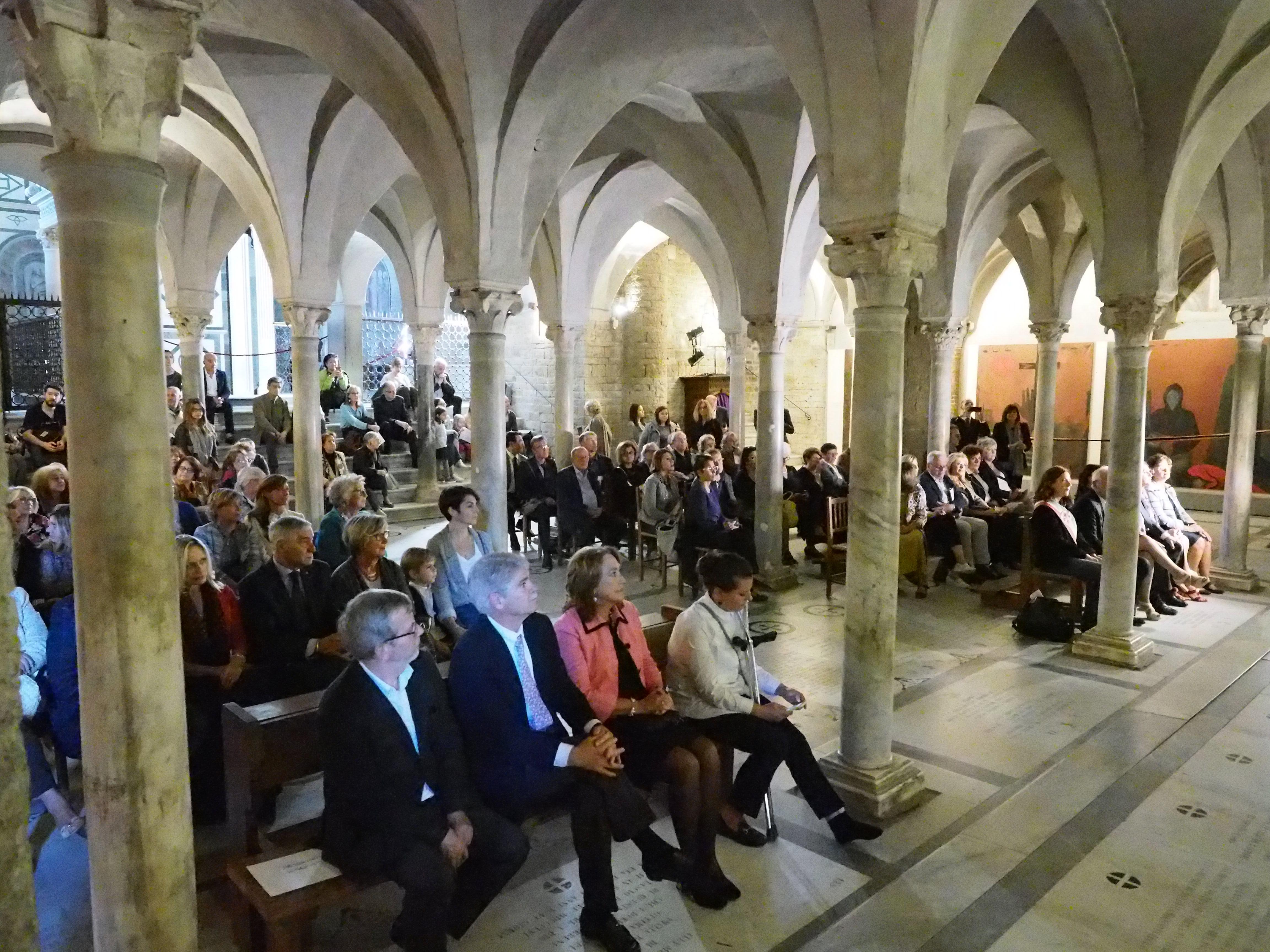 Firenze, 20 Ottobre 2018 - l'inaugurazione di Gernika