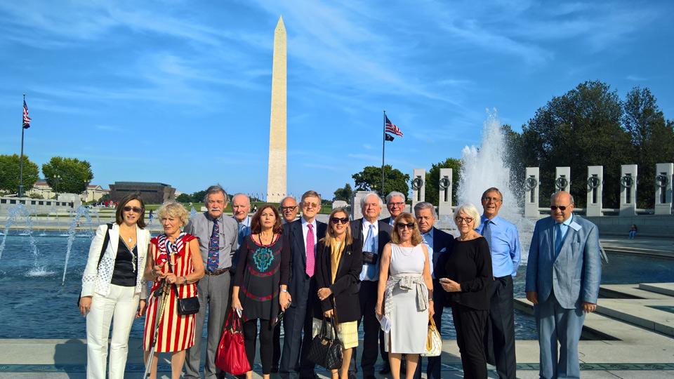 Washington, 25 settembre 2017 - Visita di studio delegazione Former Members dell'Europarlamento