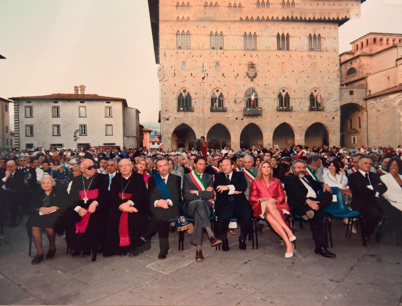 Pistoia, Piazza Duomo, 2 giugno 2005 - Festa della Repubblica
