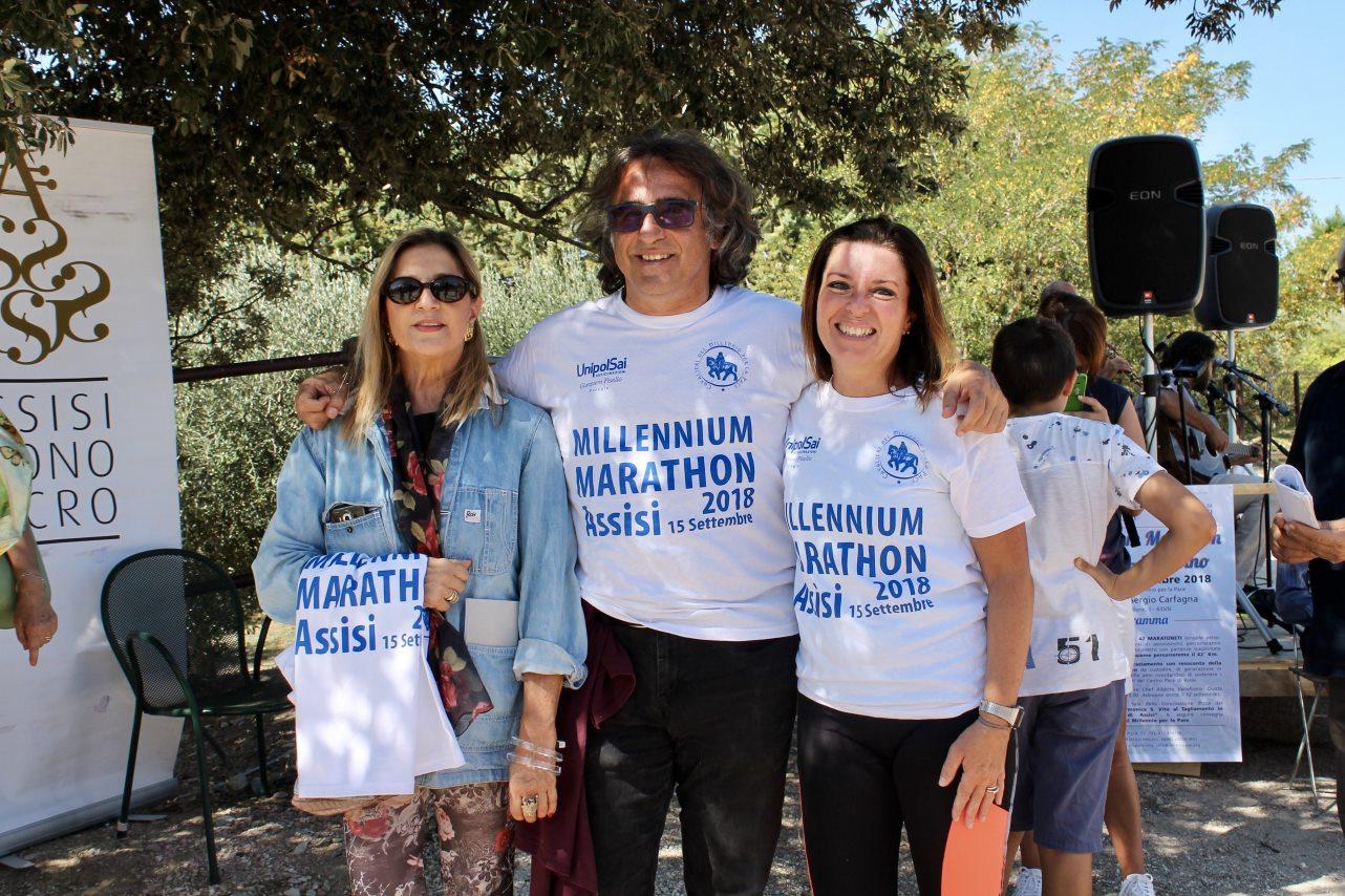 Maratona di Assisi, 15 Settembre 2018, con Andrea Ceccomori