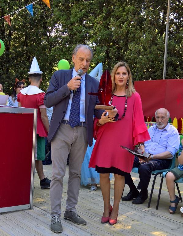 Collodi, 27 Maggio 2017, premiata dal presidente Pier Francesco Bernacchi