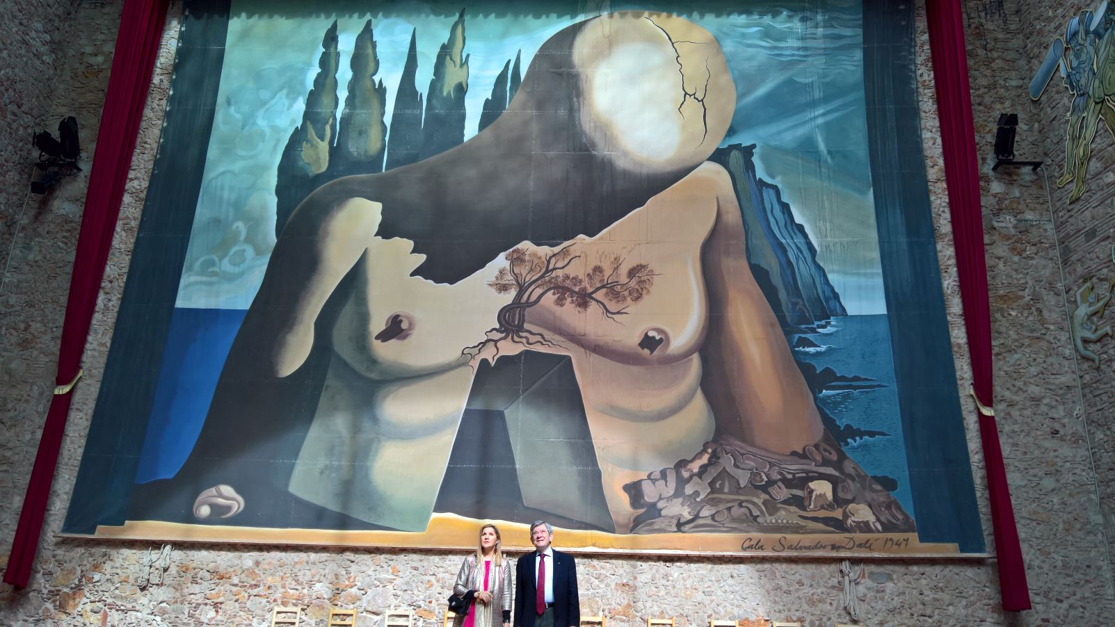 Figueres, 12 Marzo 2018, Teatro Museo Dalì, con Enrique Baron