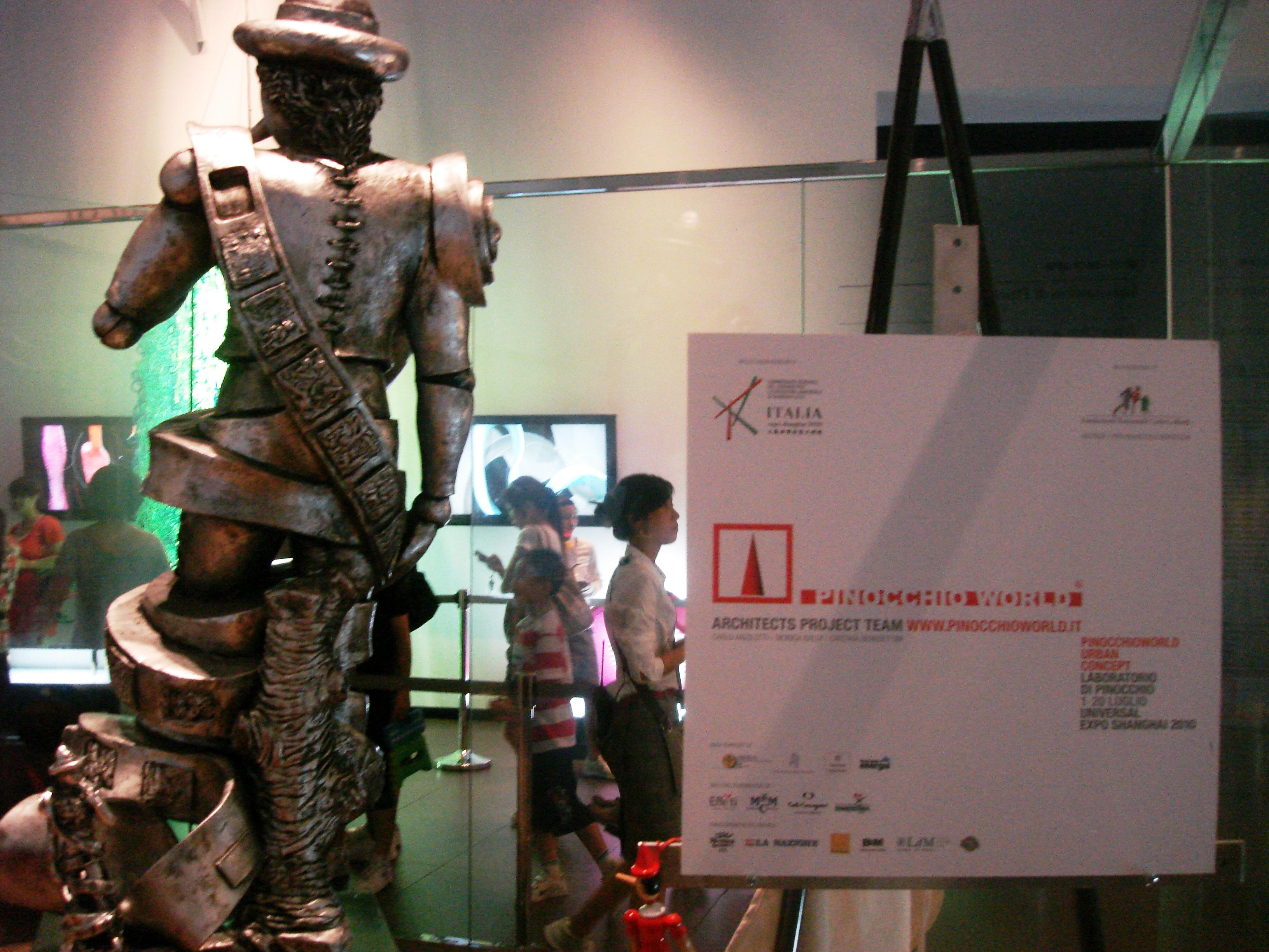 Expo Universale Shangai 2010, laboratorio di Pinocchio in Pinocchioworld