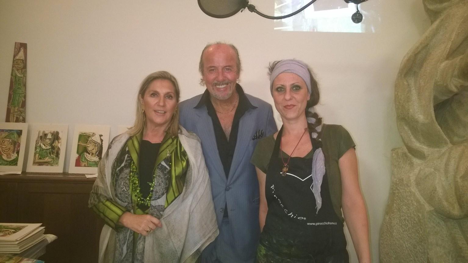 Roma, 15 Ottobre 2014, con Enio Drovandi e Caterina Balletti