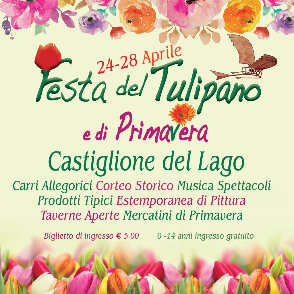 Festa del tulipano e di Primavera a Castiglione del Lago (Pg)