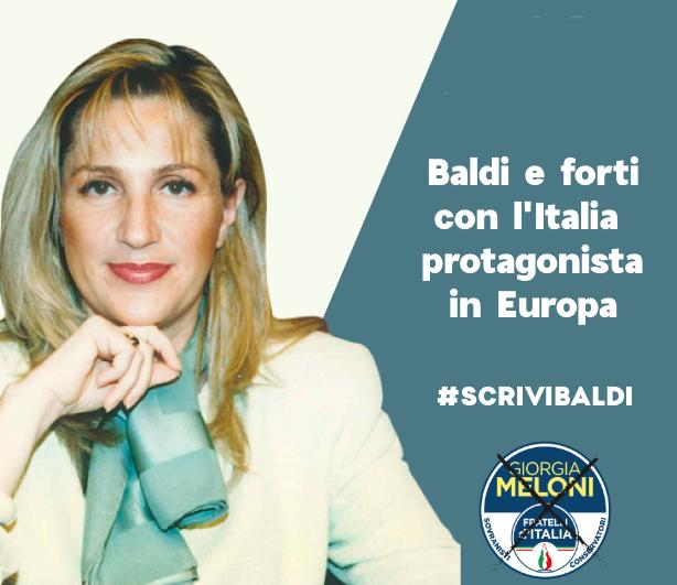 Baldi e Forti con l'italia protagonista in Europa - Monica Baldi