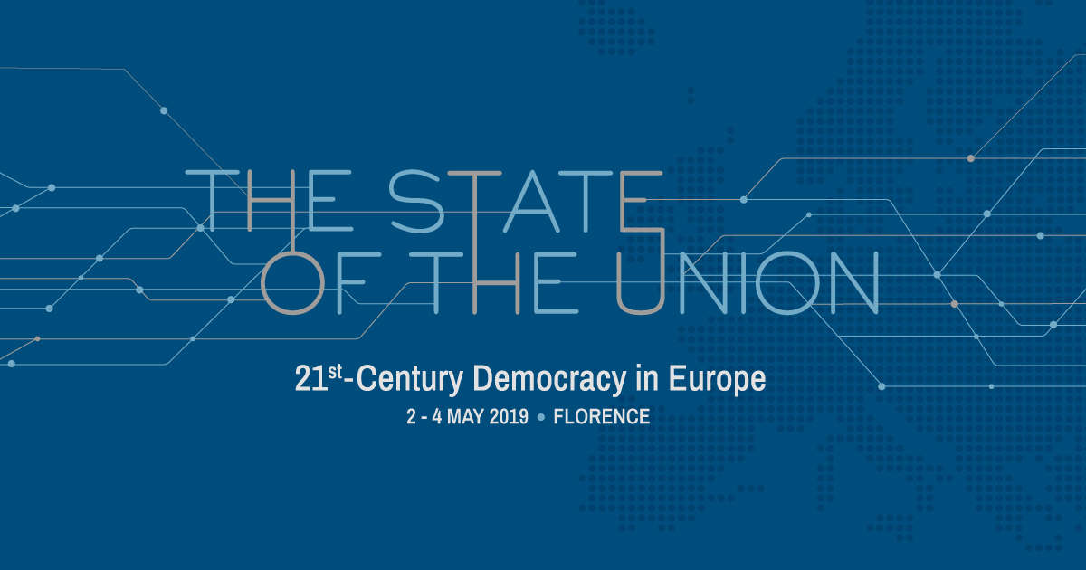 The State of the Union, Firenze 2-4 Maggio 2019