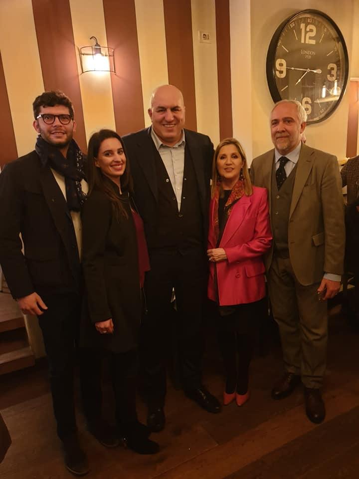A Firenze con l'onorevole Guido Crosetto alla presentazione della mia candidatura alle elezioni Europee 2019