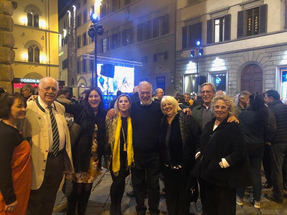 A Firenze alla festa di chiusura della campagna elettorale al Comitato Elettorale