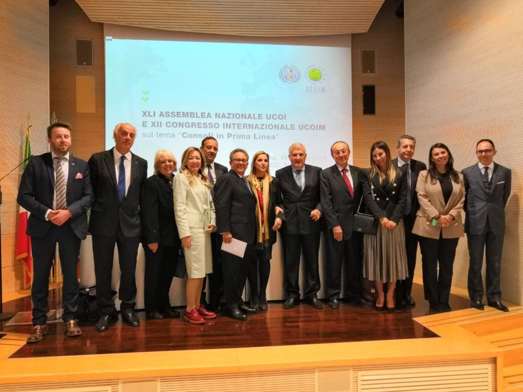 Alla Farnesina in occasione della conferenza dei Consoli onorari