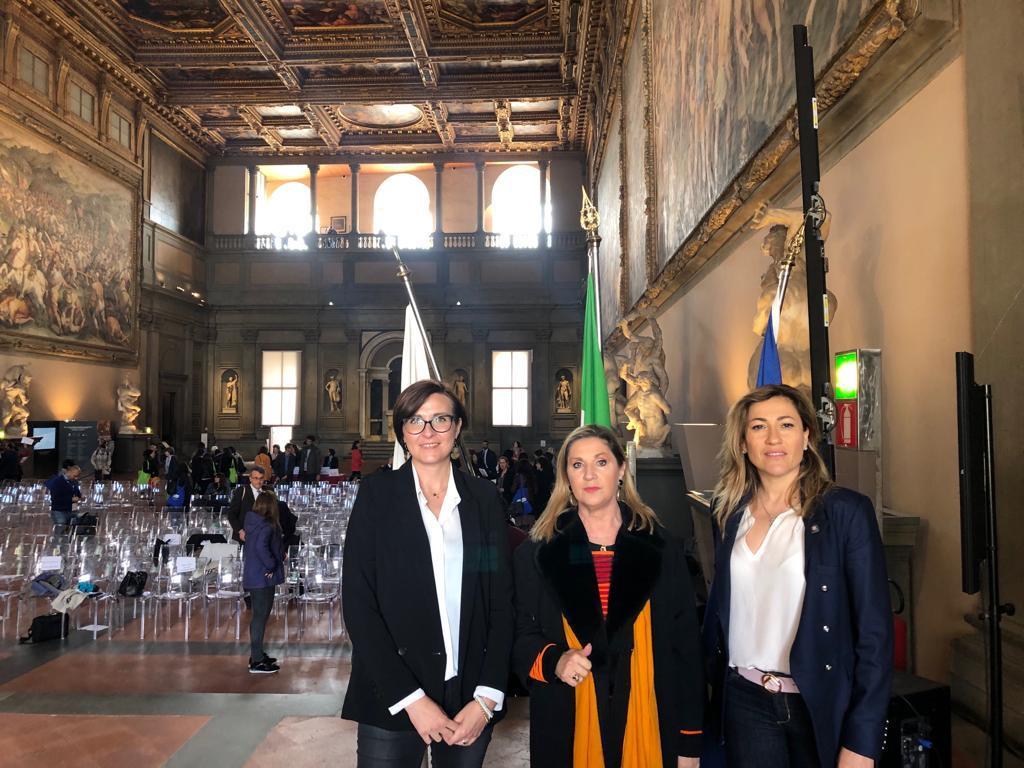 """Ospite della conferenza internazionale Erasmus """"United in diversity"""" a Firenze"""
