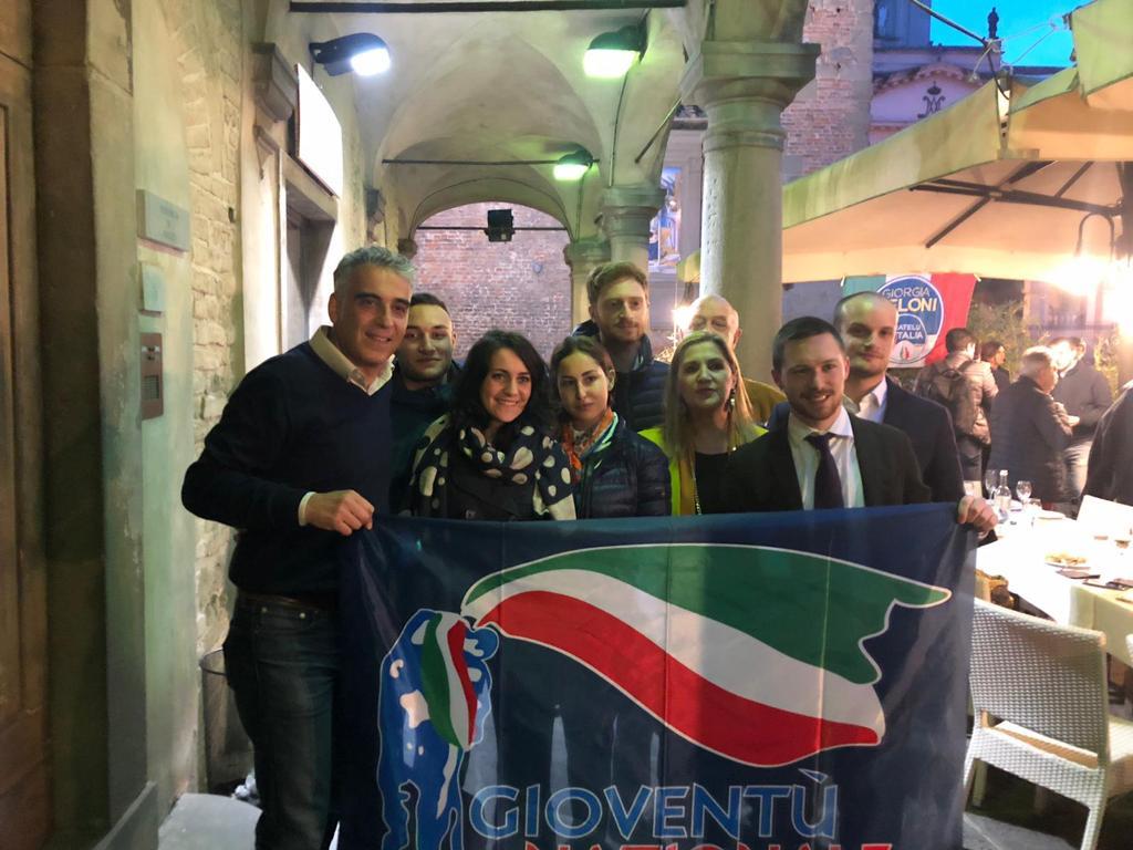 Al Comitato elettorale di Fratelli D'Italia a Firenze